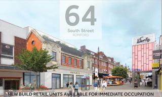 Teaser image for Retail to Rent in South Street, Romford, RM1