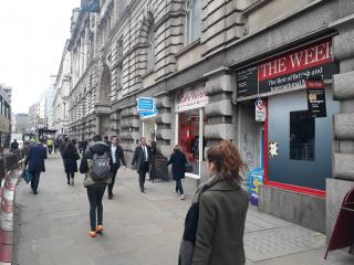Teaser image for Retail to rent in Moorgate, City, London, EC2M