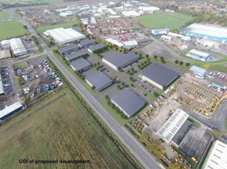 Teaser image for Industrial for sale in Whisby Road, Lincoln, LN6